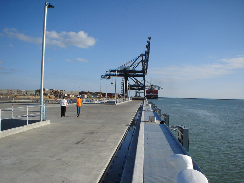 Flinders Ports Berth 8 Outer Harbour Grain Wharf