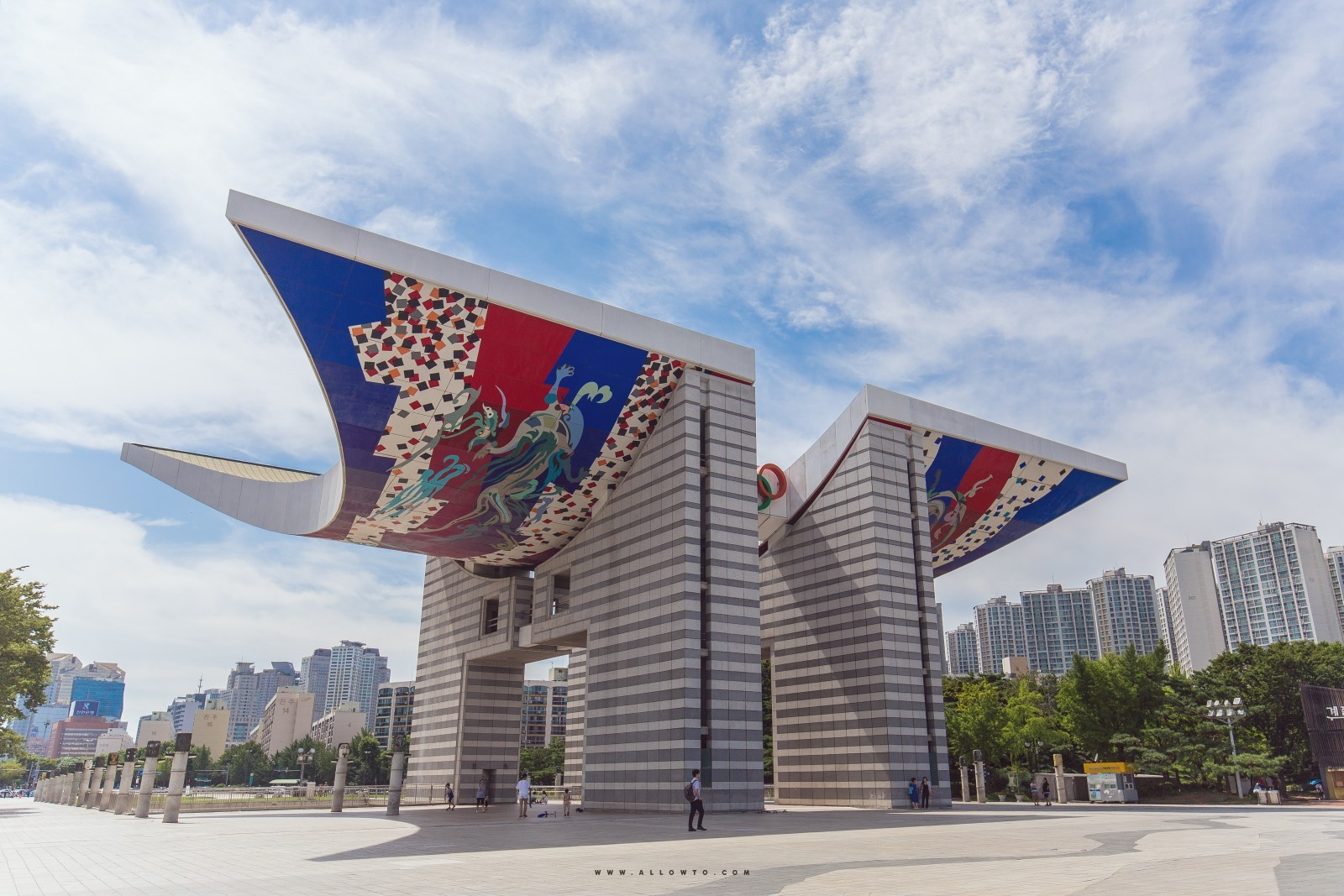 xypex 올림픽 기념물 korea olympic monument