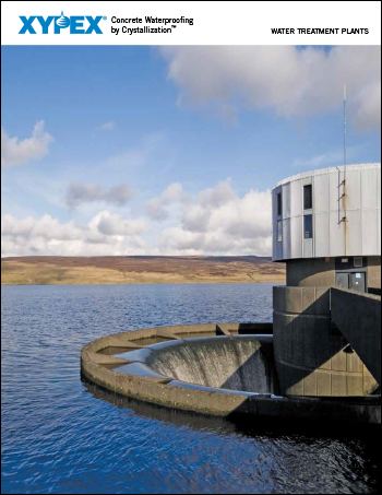 xypex water treatment plants brochure