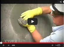 xypex concrete repair video