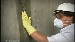 concrete repairs, plugging tie-holes