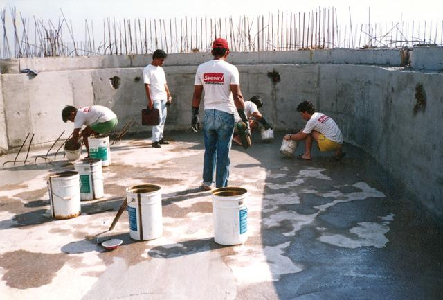 Crystalline Waterproofing Elevator Pit : Xypex projects